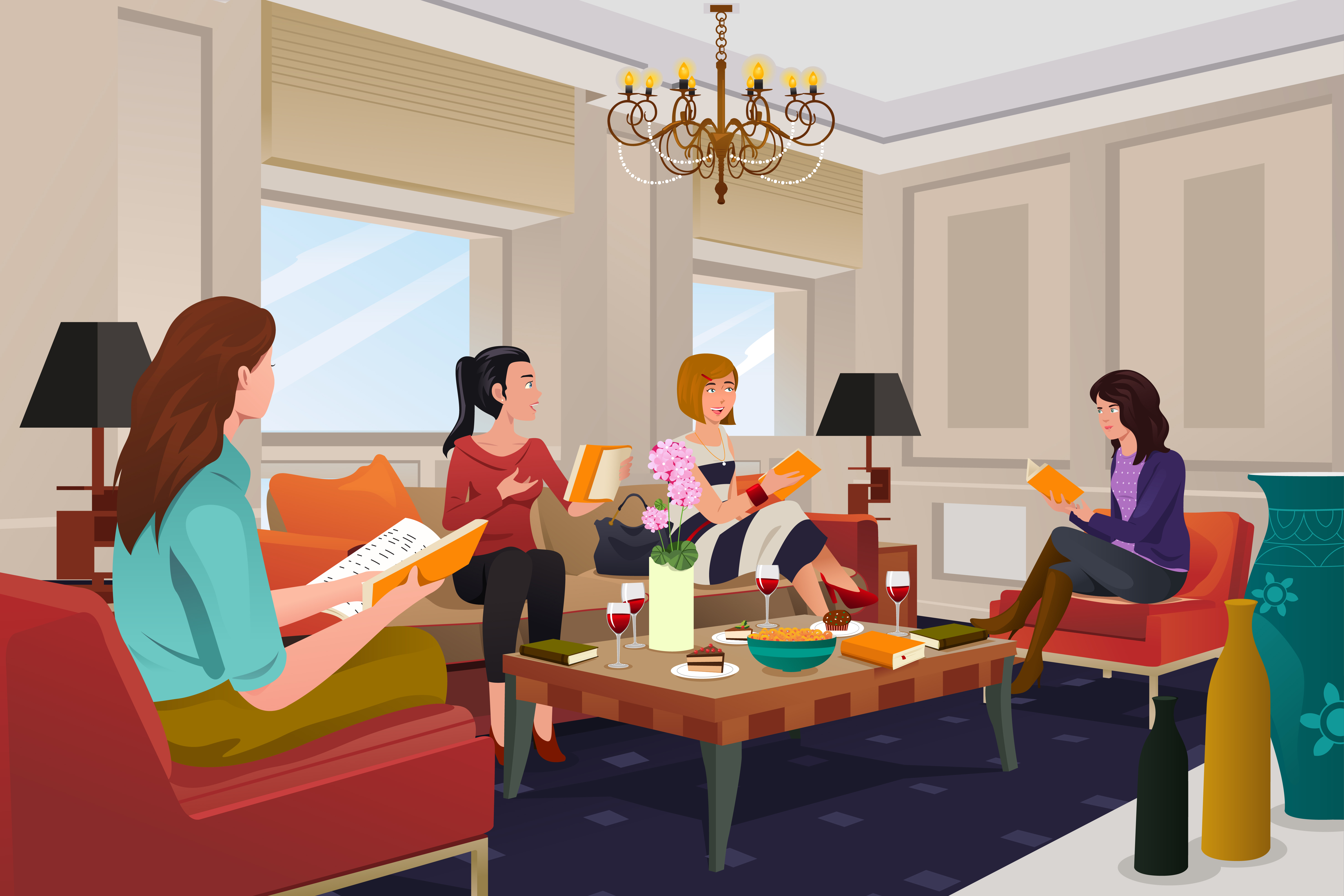 Top Ten Tips for Having a Great Book Club Meeting ...