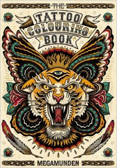 Cover_The Tattoo Coloring Book