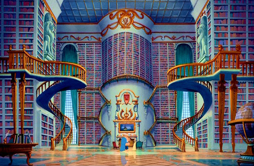 Pic_Beauty and the Beast Library