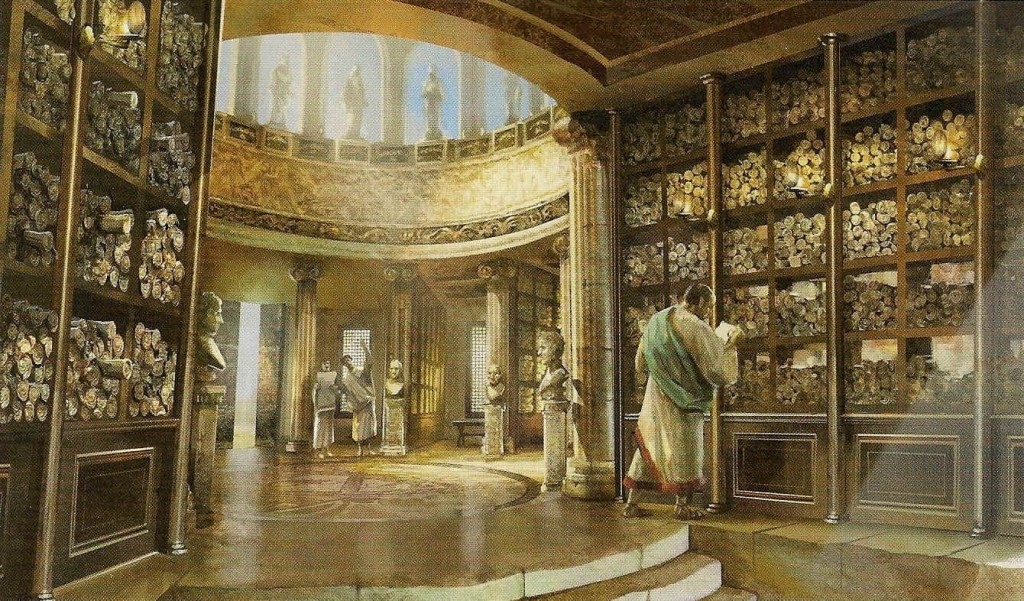 Pic_Library of Alexandria