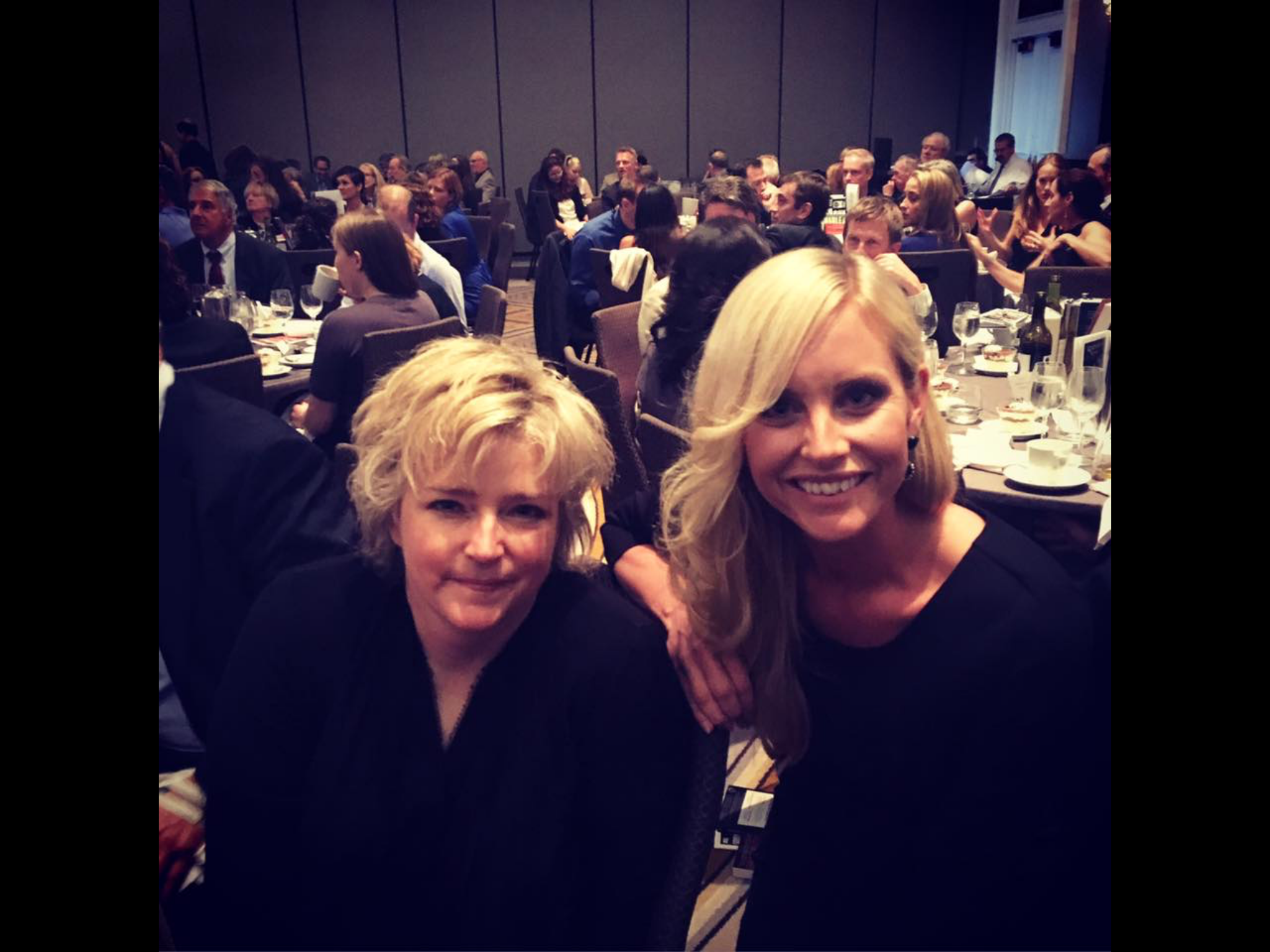 Emelie and Karin Slaughter