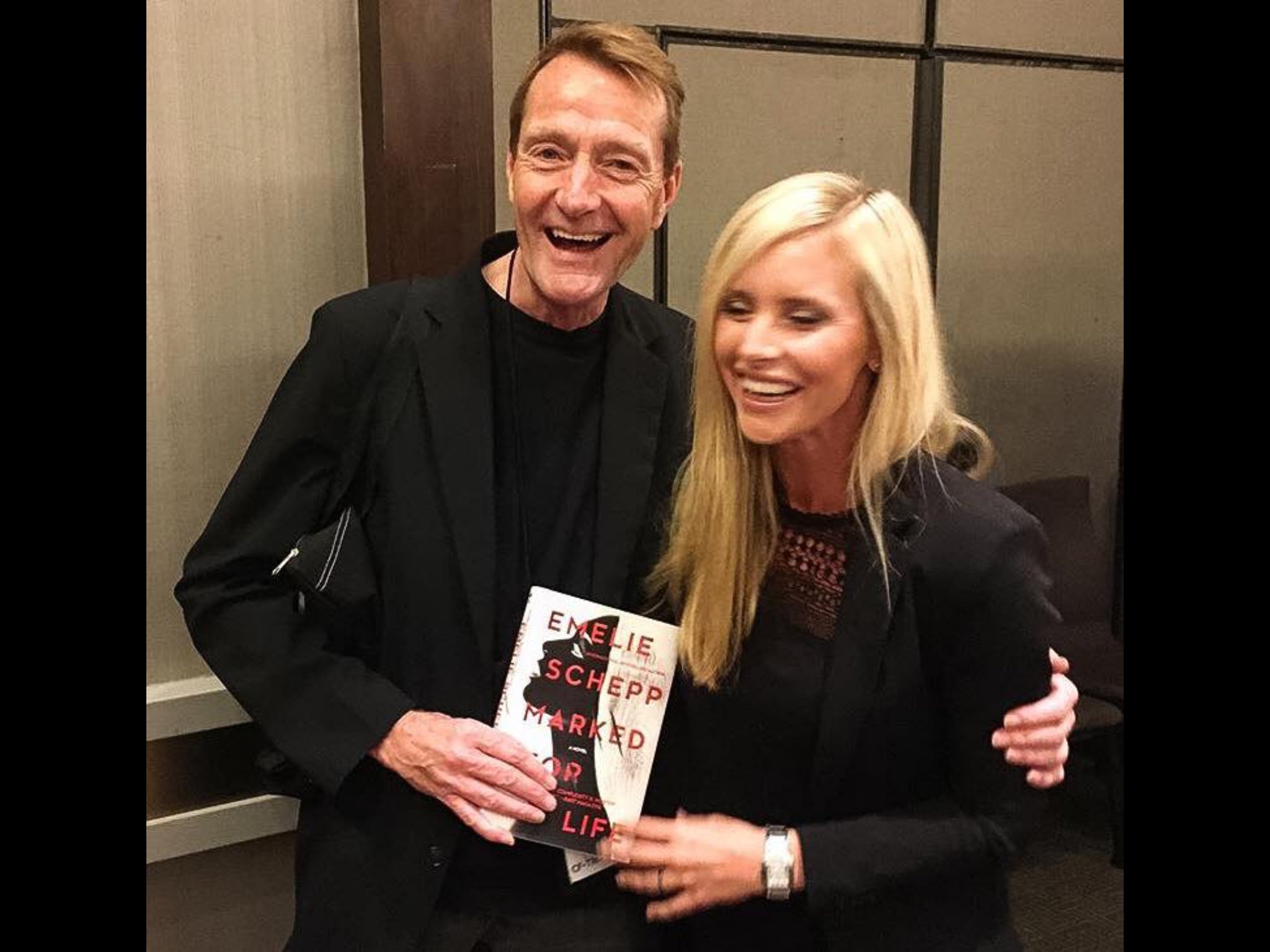 Emelie and Lee Child
