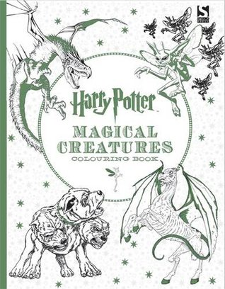 Cover_HP Magical Creatures Coloring Book