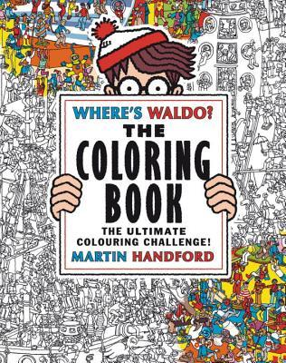Cover_Where's Waldo The Coloring Book