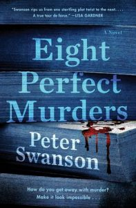 Eight Perfect Murder by Peter Swanson
