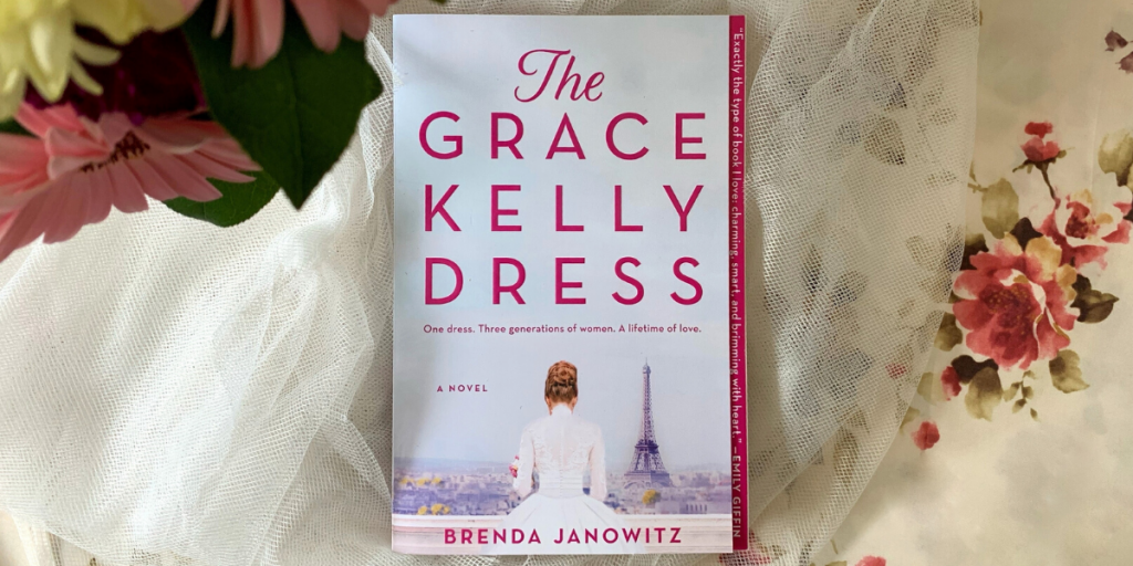 #ReadWithBookClubbish: The Grace Kelly Dress by Brenda Janowitz