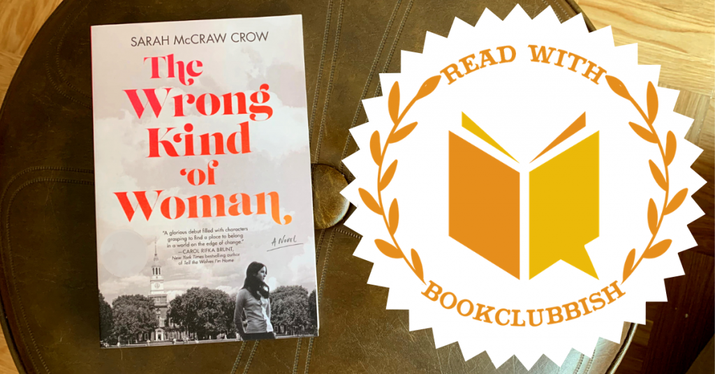 Read With BookClubbish: The Wrong Kind of Woman by Sarah McCraw Crow