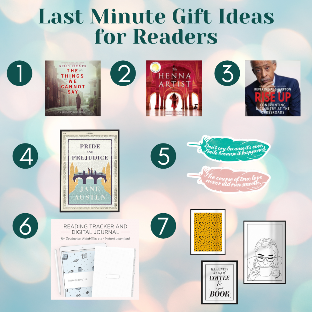 Last Minute Gift Ideas for Readers