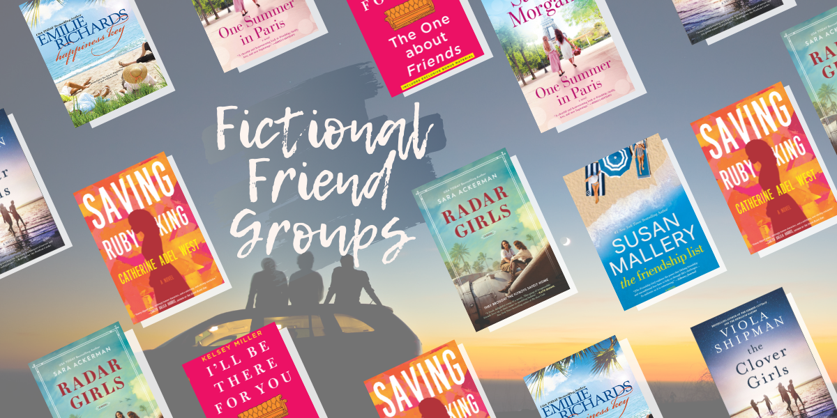 Fictional Friend Groups We Want to be Apart Of