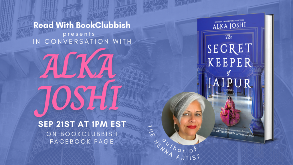 RSVP to our live discussion with Alka Joshi